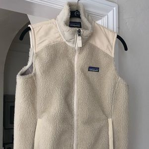 Patagonia shearling vest